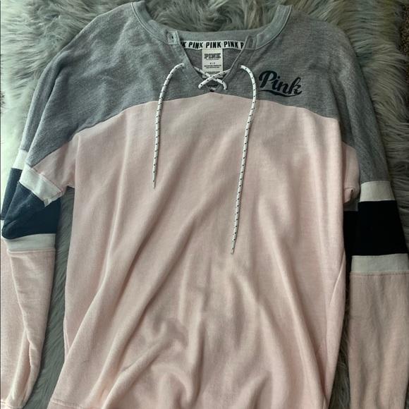 PINK Victoria's Secret Tops - Victoria Secret Pink crewneck